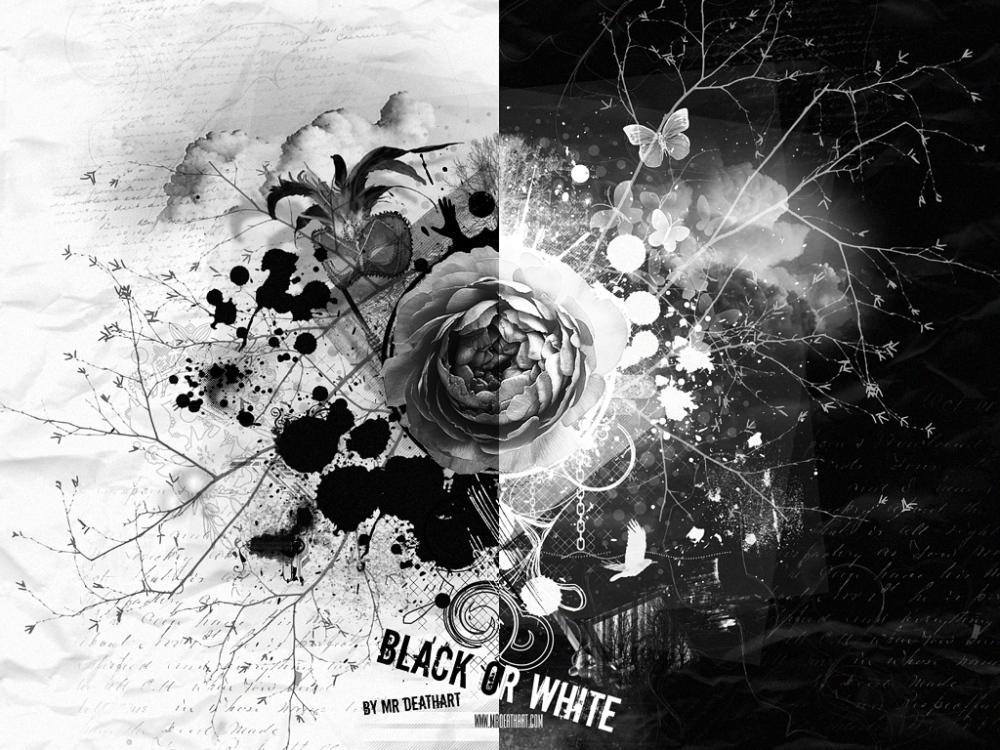 ...lo Blanco debera vencer lo negro.